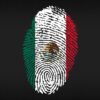 Mexico fingerprint
