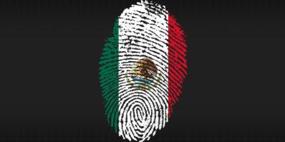 Mexico fingerprint