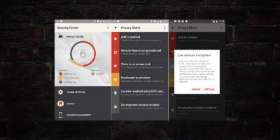 SilentCircle Privacy Meter