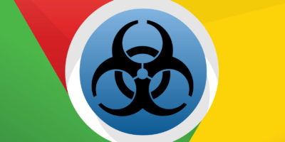 Google Chrome biohazard