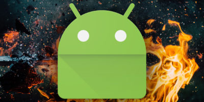 Android explode
