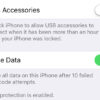 ios USB Restricted Mode