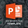 2020 security plan template