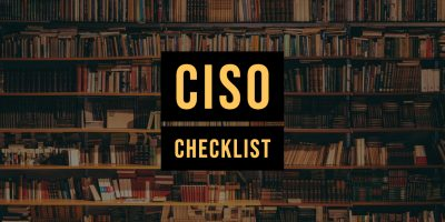 CISO checklist
