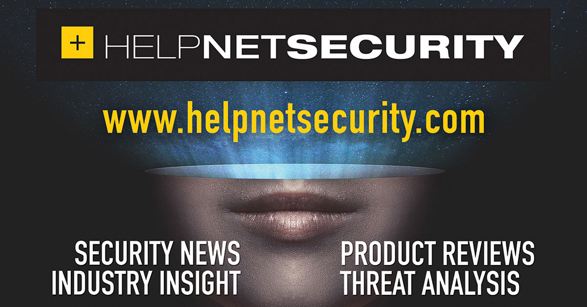 Article header from helpnetsecurity.com