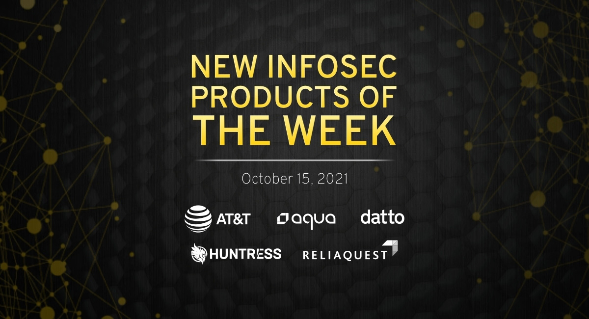New infosec products of the week: October 15, 2021